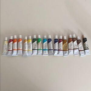 (17) Pro Color 0.4 fl oz Oil Paints